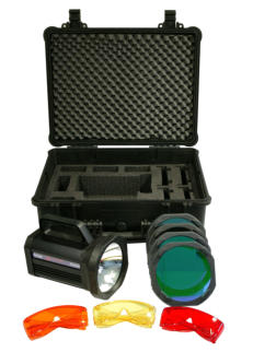 TrAc Finder ALS Crime Light Kit