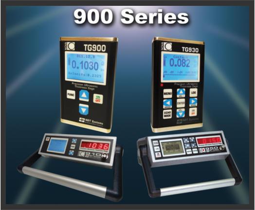 NOVA 900 Series Precision Ultrasonic Thickness Gauges